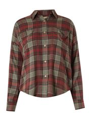 Denim and Supply Ralph Lauren Dolman sleeve check shirt