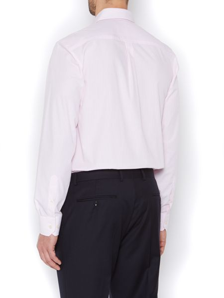 Howick Tailored Thin stripe formal shirt with pocket