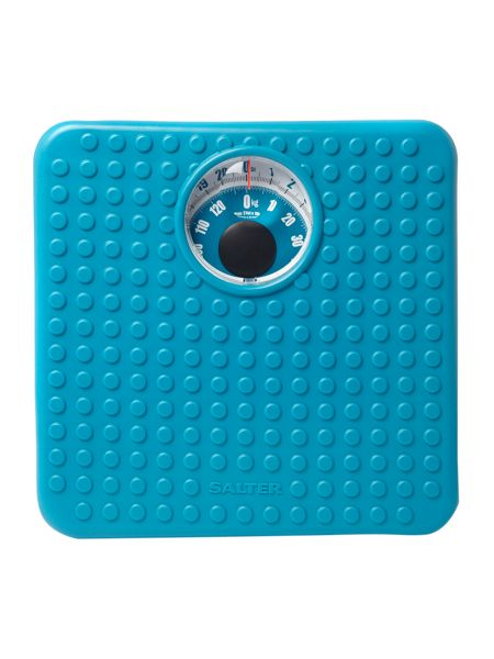 Salter Salter 407 soft touch scales in teal