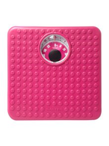Salter 407 soft touch scales in pink