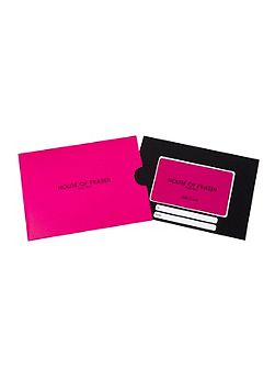 £25 Pink House of Fraser Gift Card
