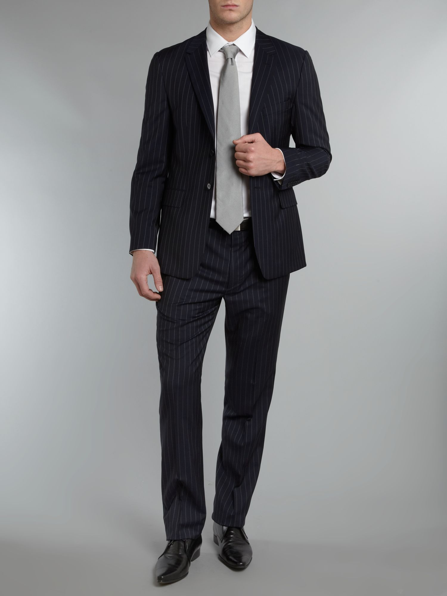 Willoughby pinstripe suit