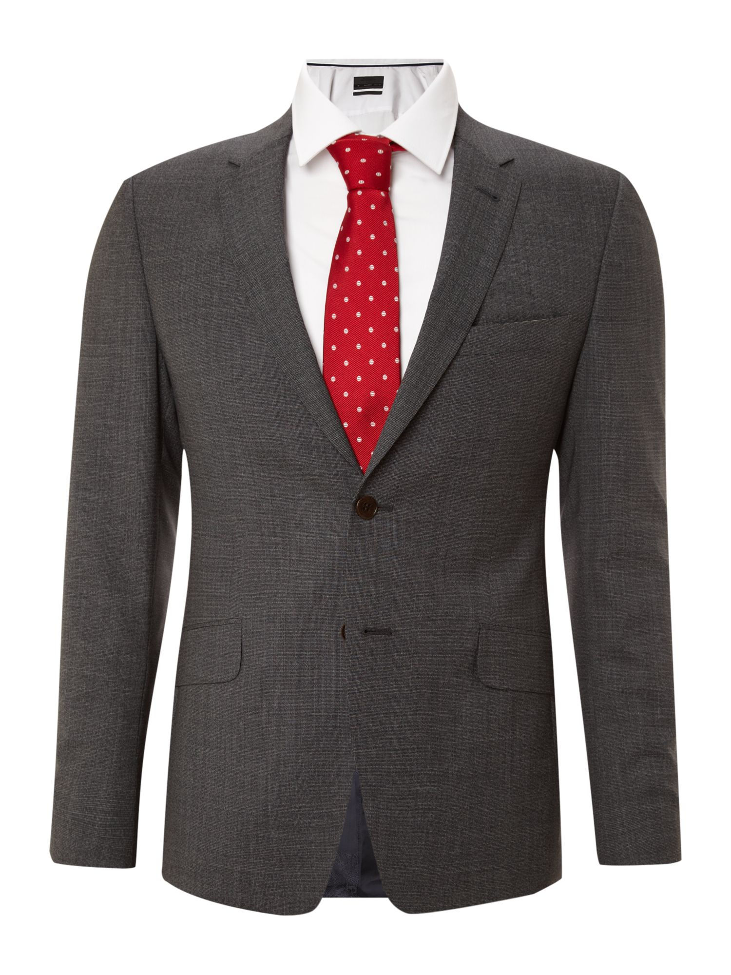 Regent super slim cross hatch suit