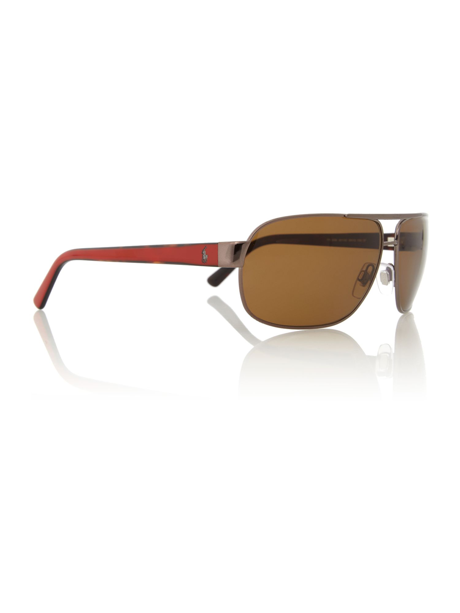 Mens PH3066 Pony Player Brown Sunglasses