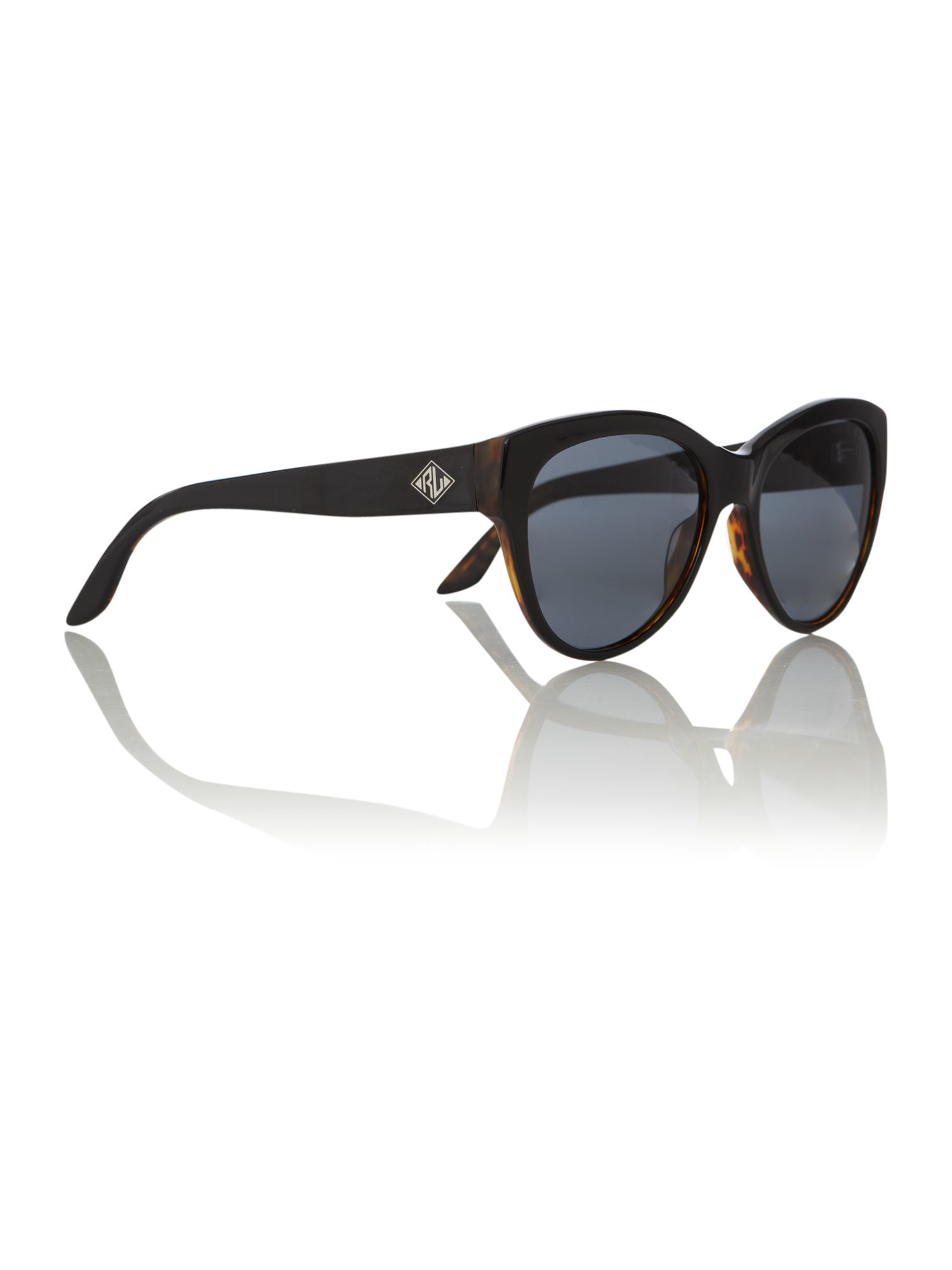 Ladies RL8089 Art Deco Black/Havana Sunglasses