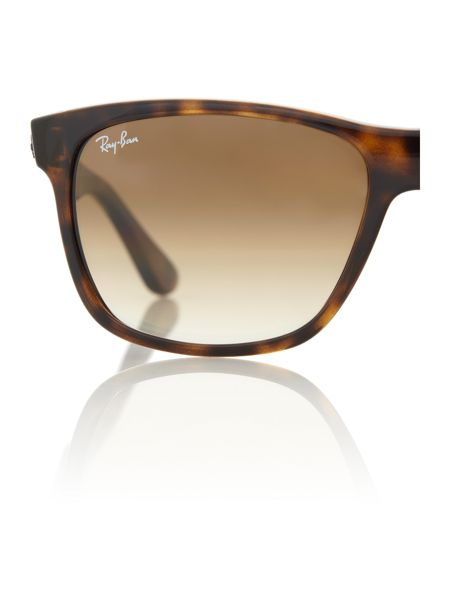Ray-Ban Unisex RB4181 Light Havana Square Sunglasses