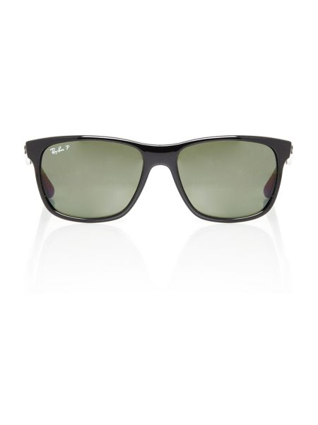 Ray-Ban Unisex RB4181 Black Square sunglasses