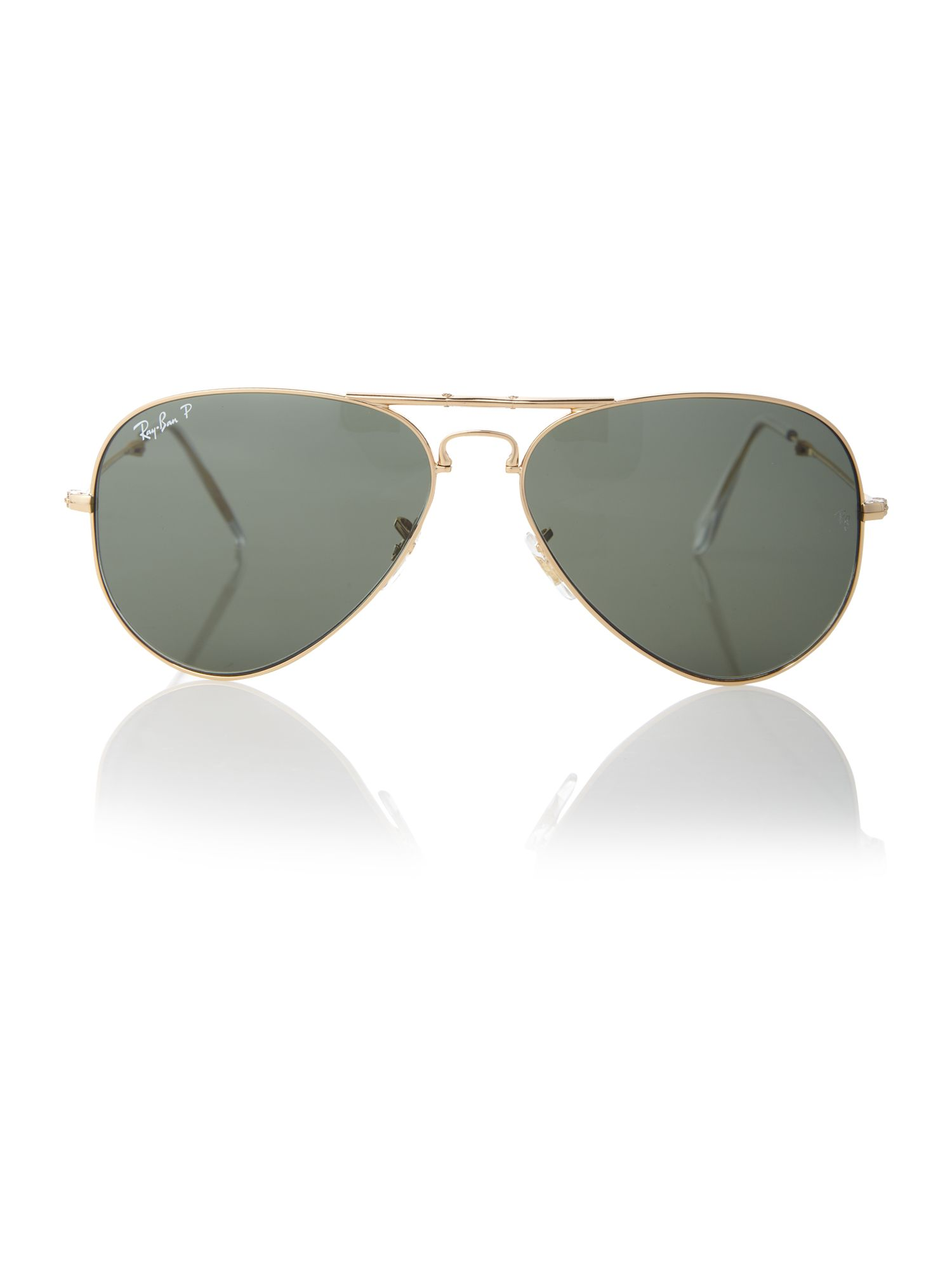 Unisex RB3479 001/58 Folding Aviator Sunglasses
