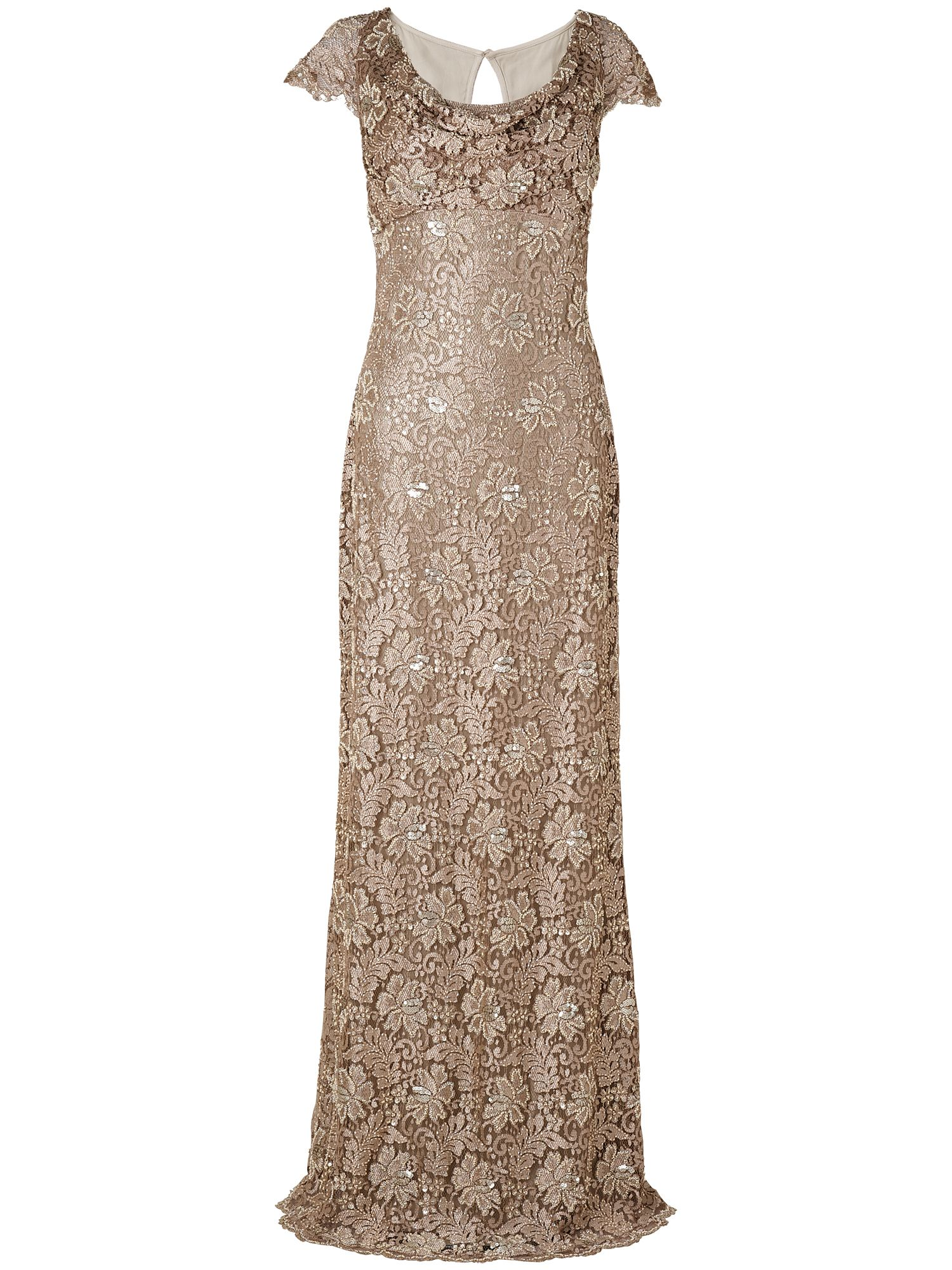 Pippa embellished lace dress