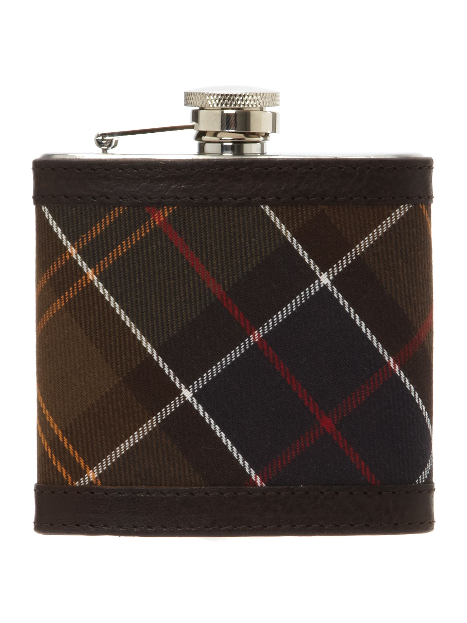 Barbour Hip Flask, Brown