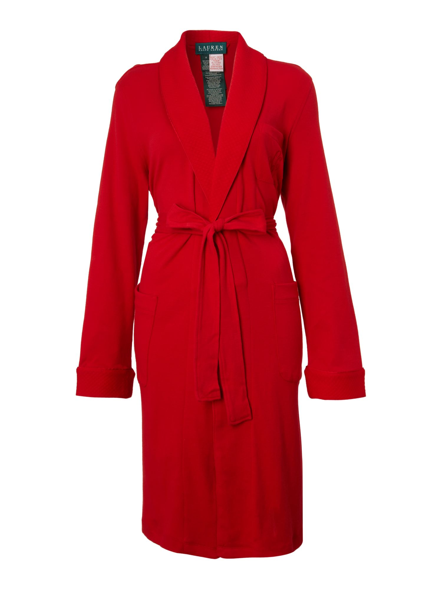Hartford lounge shawl collar wrap robe