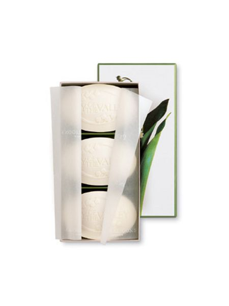 Penhaligons Lily of the Valley Soap 3 x 100g