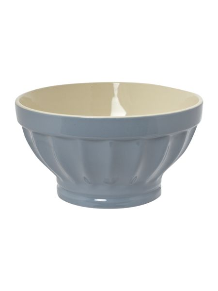 Shabby Chic Jolie large blue mixing bowl, 25cm
