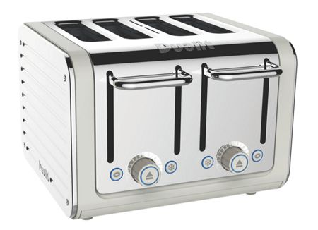 Dualit 4 slot Architect toaster canvas 46523