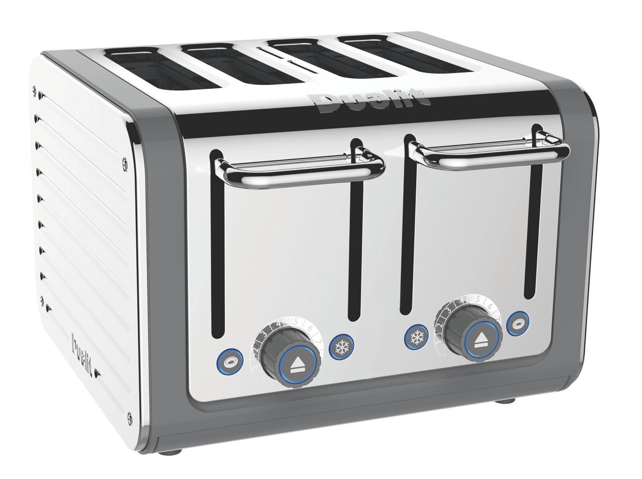4 slot Architec toaster grey 46526