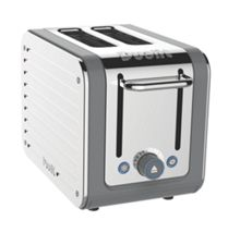 2 Slot Architect toaster grey 26526