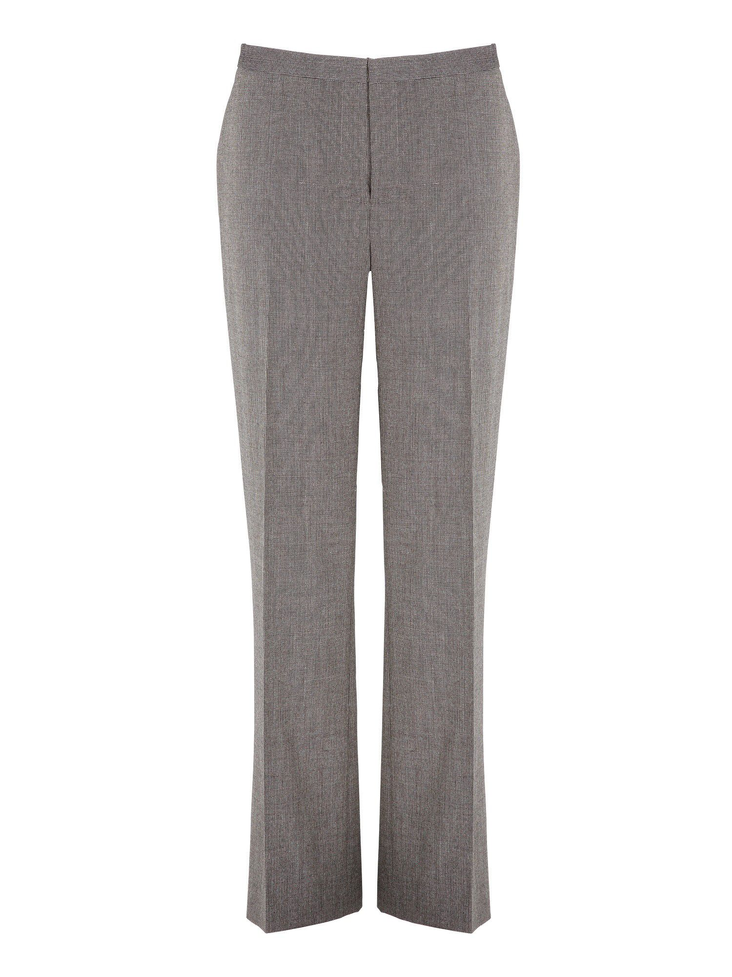 Cocoa textured trouser