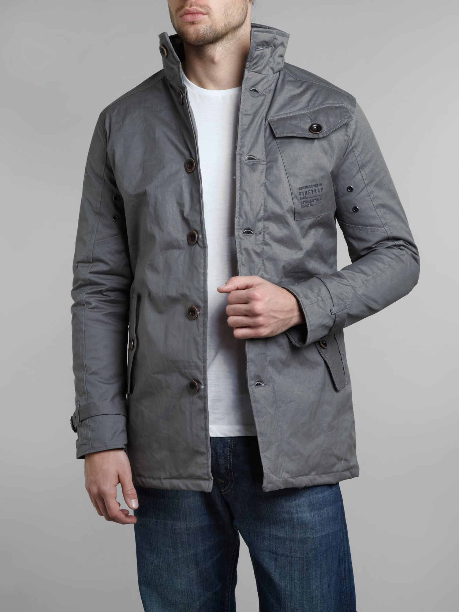 Three pocket jacket