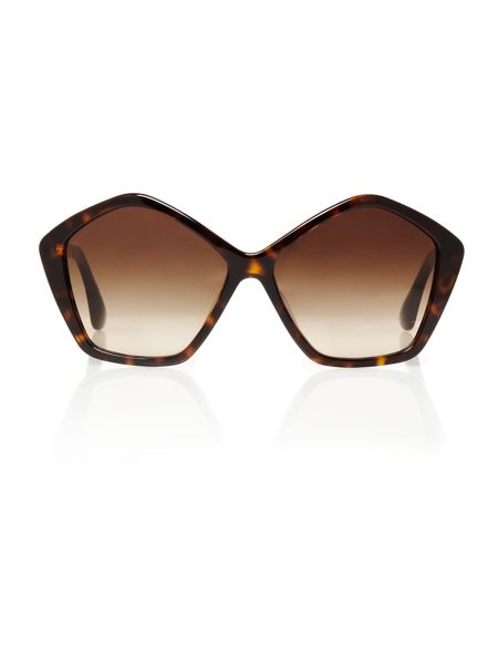 Miu Miu Ladies MU11NS Culte Havana Sunglasses