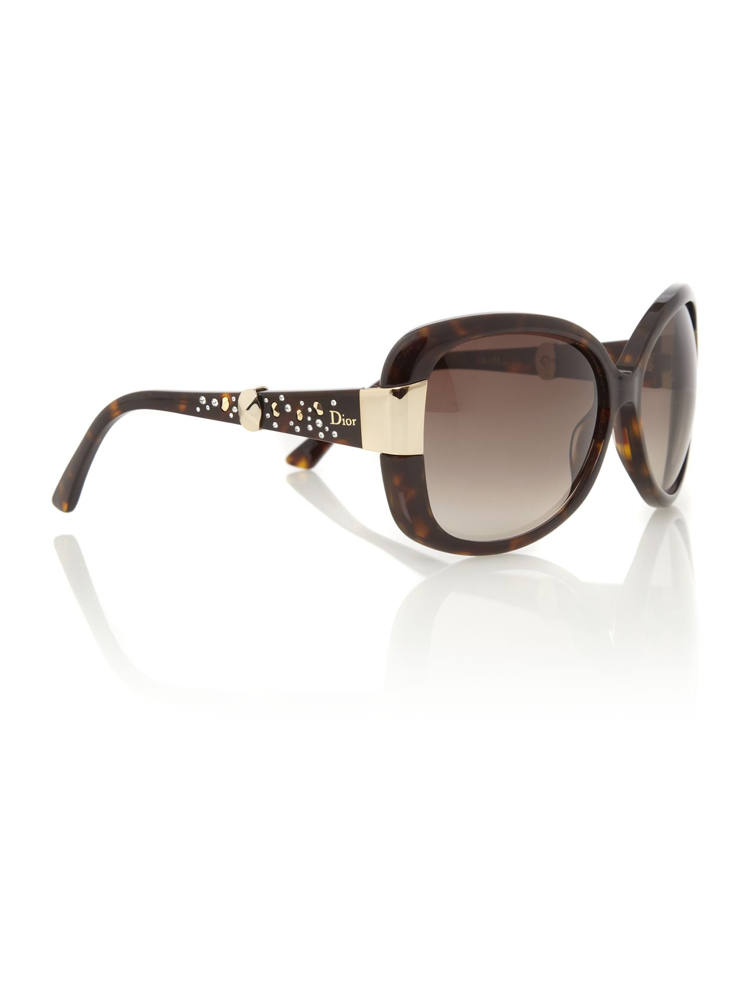 Ladies Midnight Havana Sunglasses