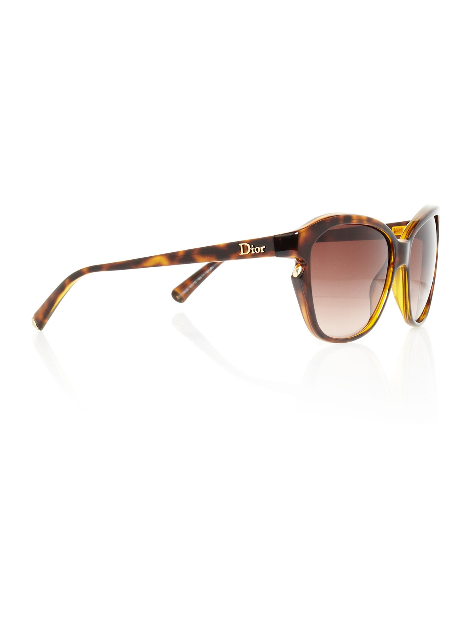 Ladies Simply Dior Havana Sunglasses