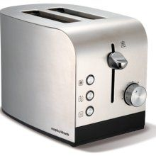 Brushed 2 slice toaster