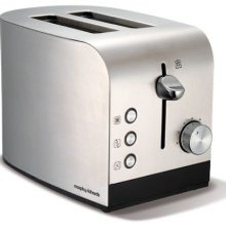 Morphy Richards Brushed 2 slice toaster