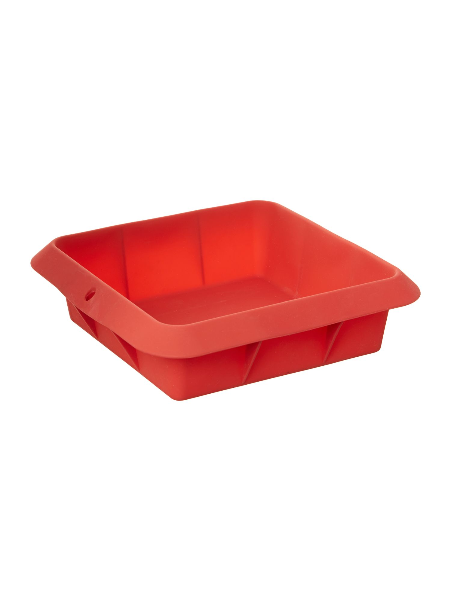 Silicone Square Mould 20cm, Red