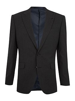 Stafford peak suit jacket with AMF stitch