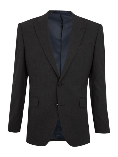 New & Lingwood Stafford peak suit jacket with AMF stitch