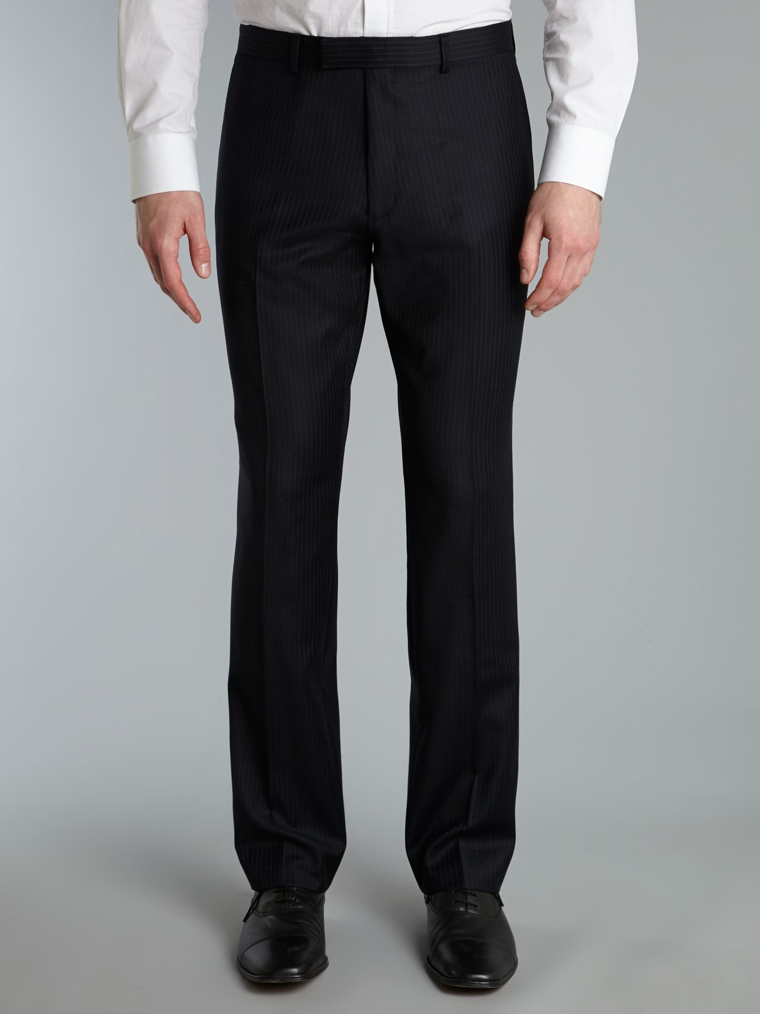 Landmark stripe suit trouser