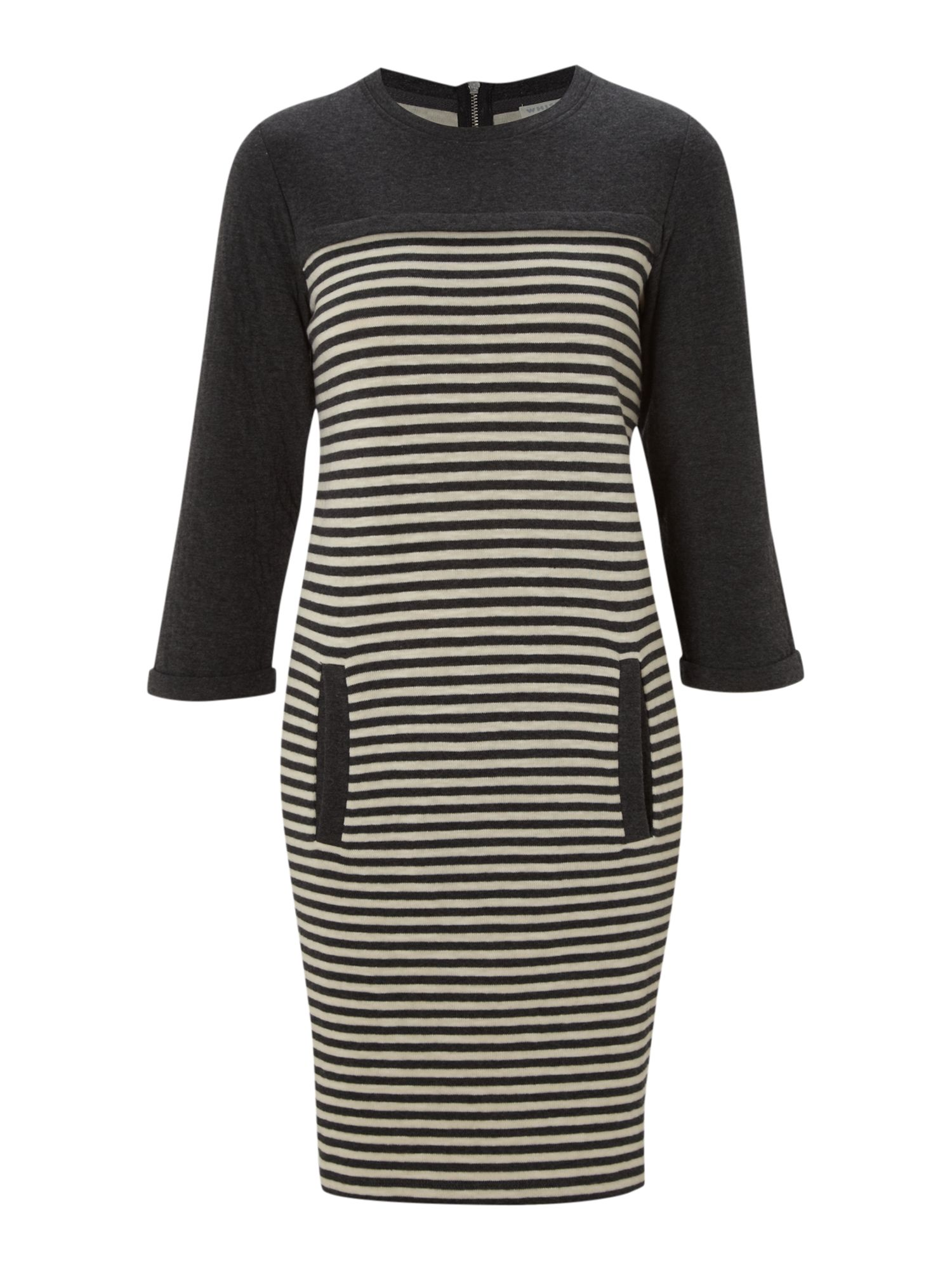 Nelly stripe jersey dress