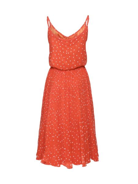Yumi Polka dot strap dress