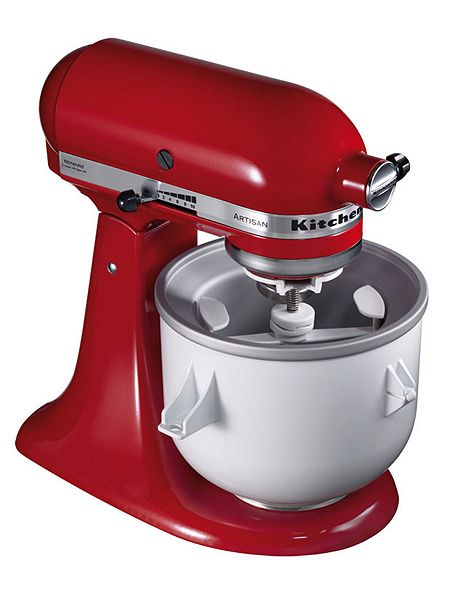 Kitchenaid Ice Cream Maker 5kica0wh House Of Fraser