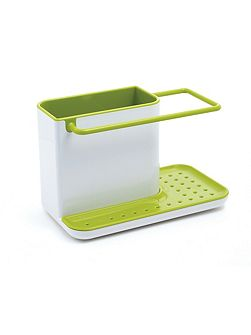 Caddy Sink Area Organiser, White / Green