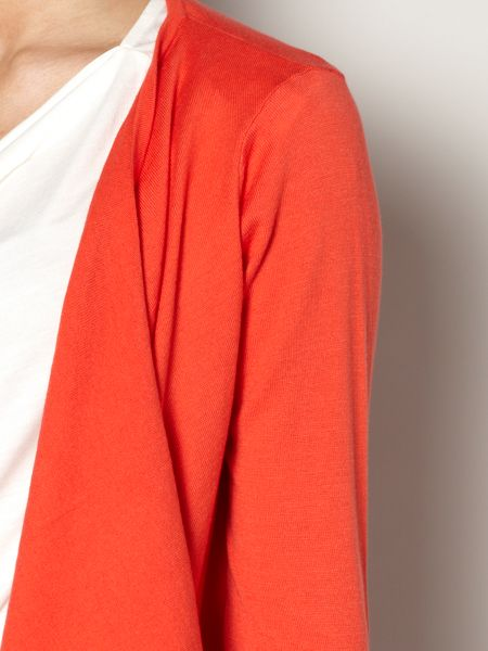 The Department Knit waterfall cardi
