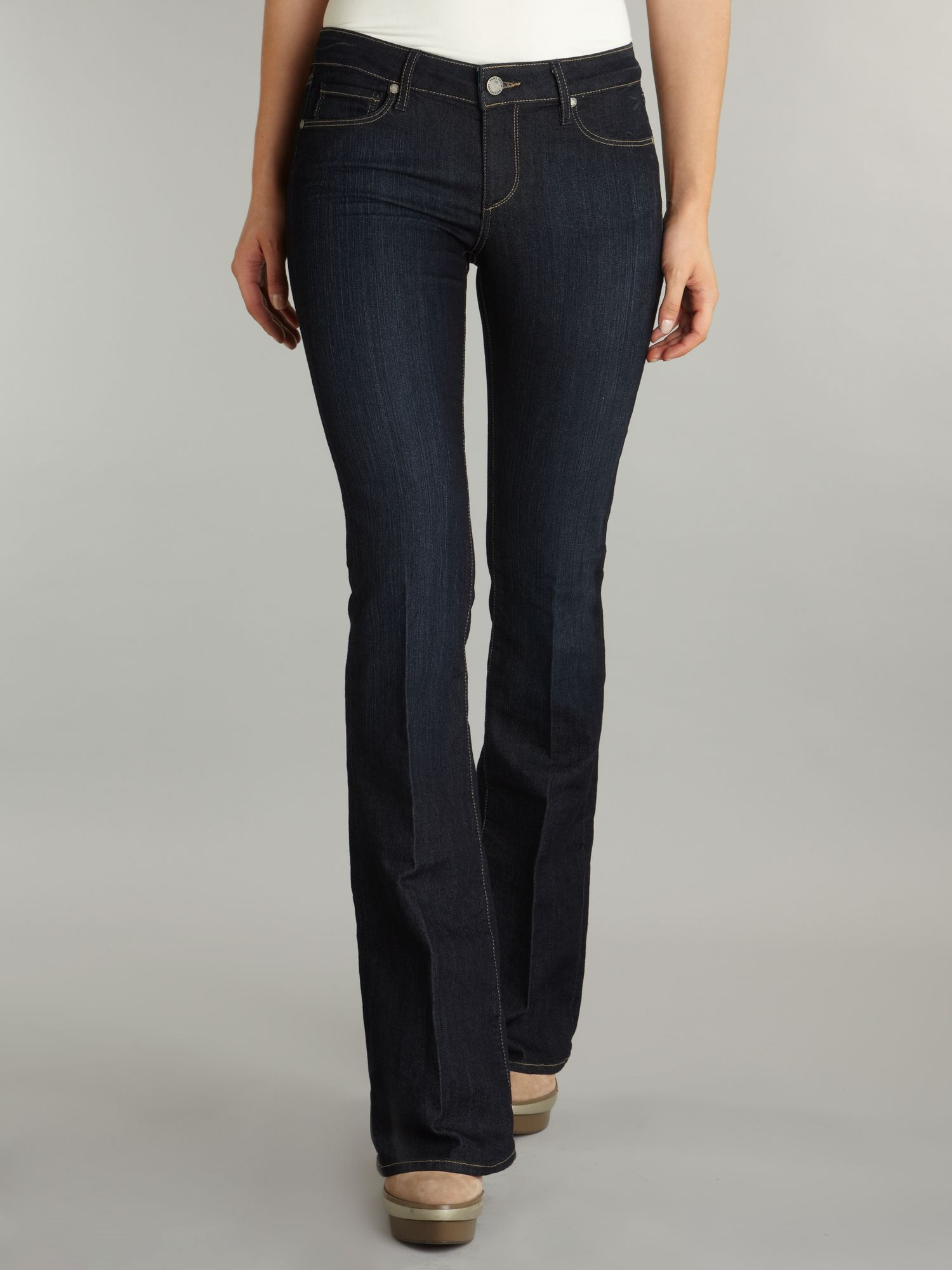 Skyline bootcut jeans in Fountain