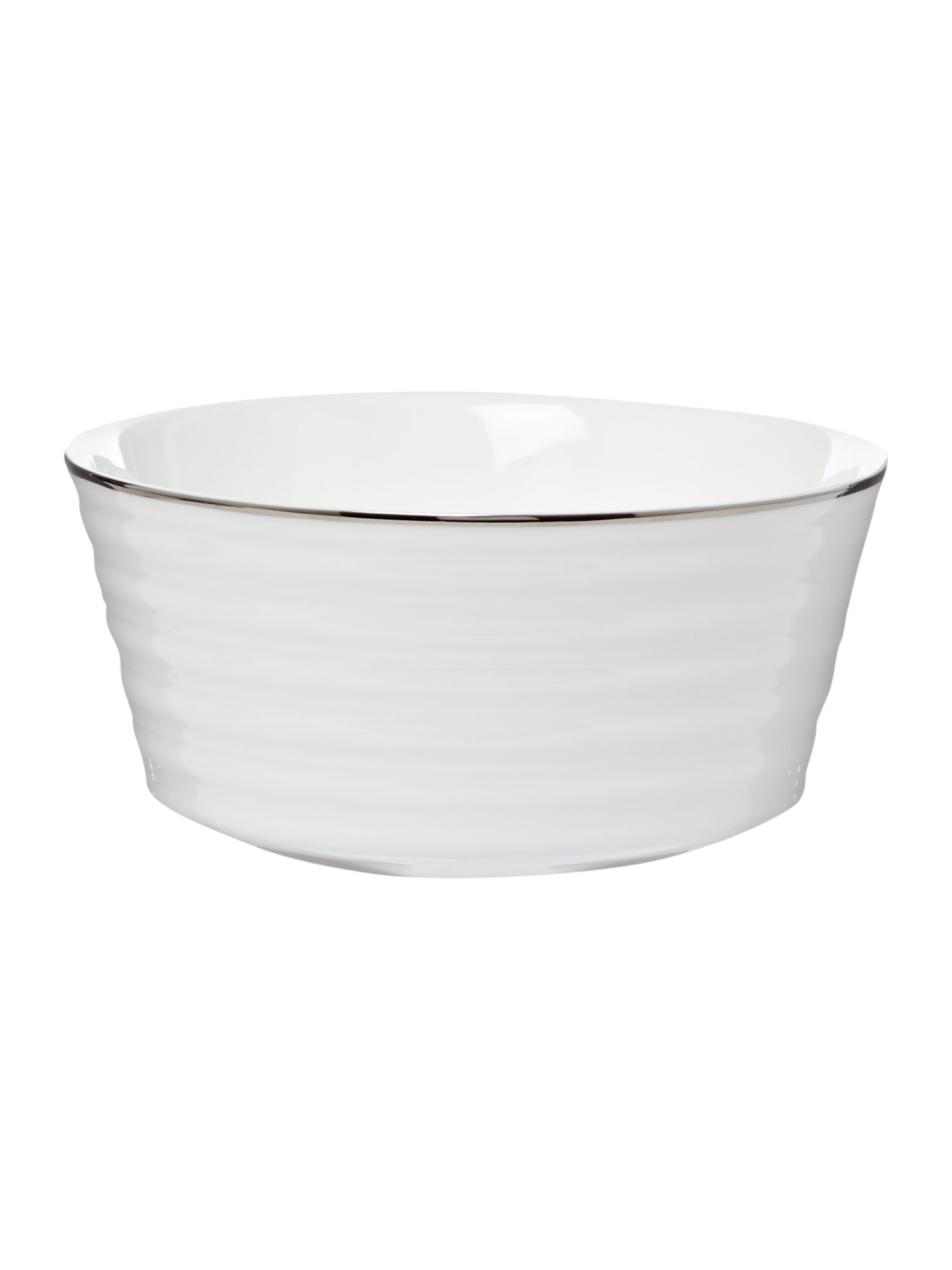 Soho platinum cereal bowl