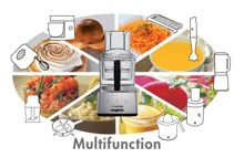 5200XL Premium Food Processor Black