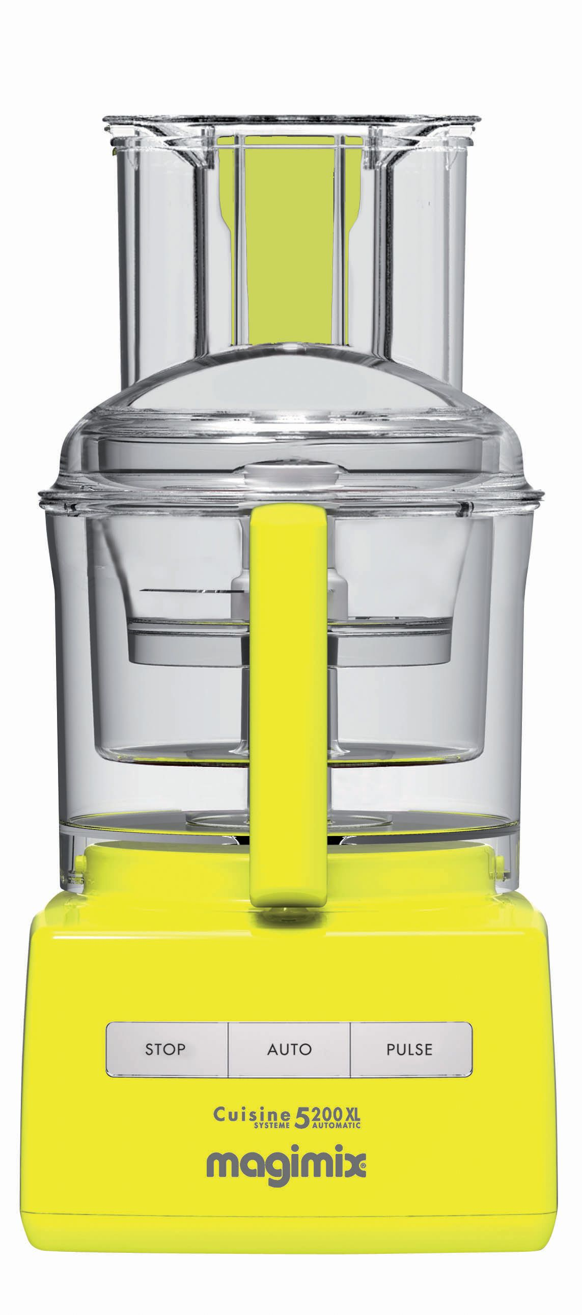 5200XL Premium Food Processor Yellow