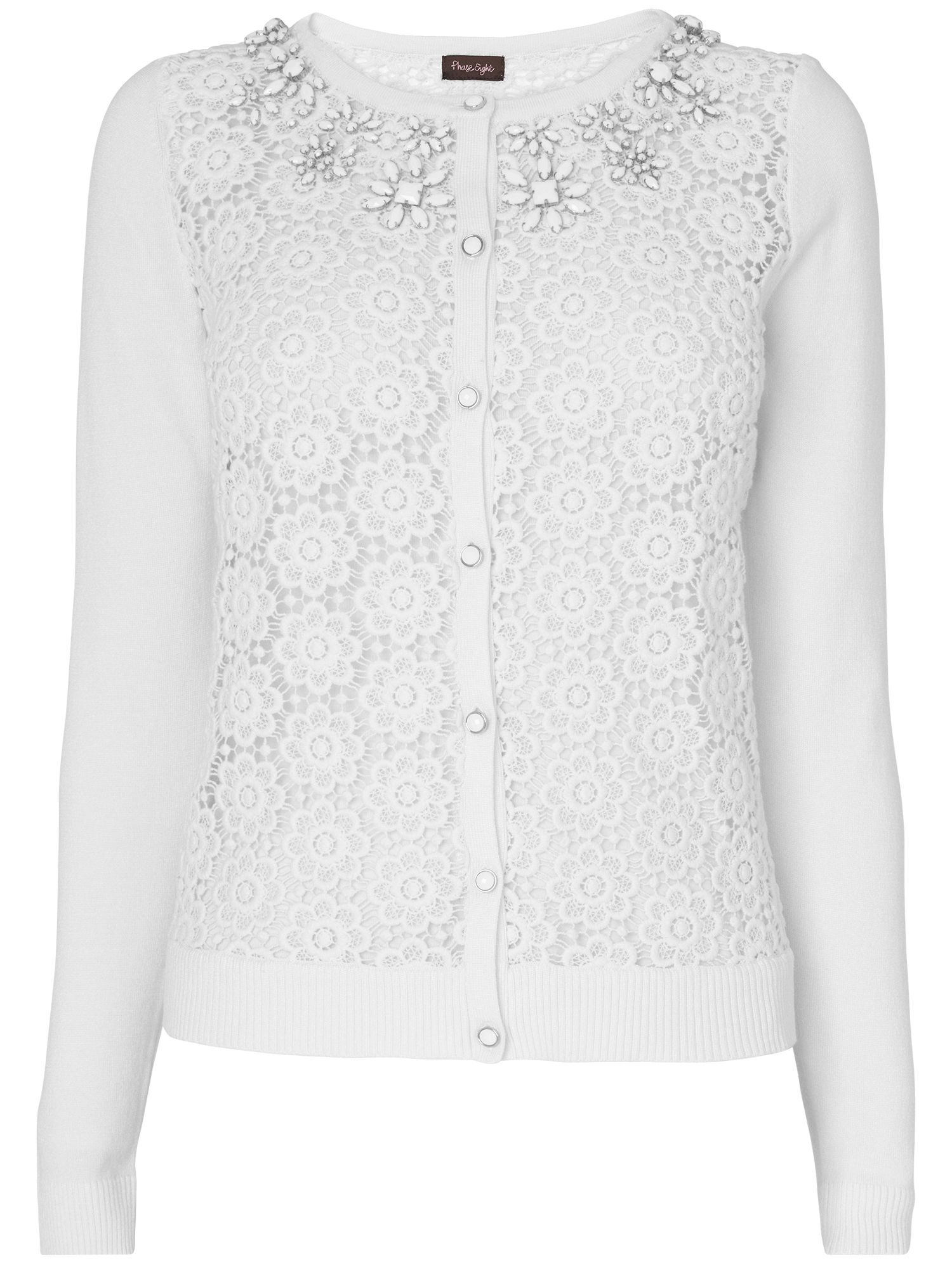 Milly lace cardigan