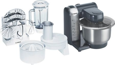 Bosch Silver Food Mixer MUM46A1GB