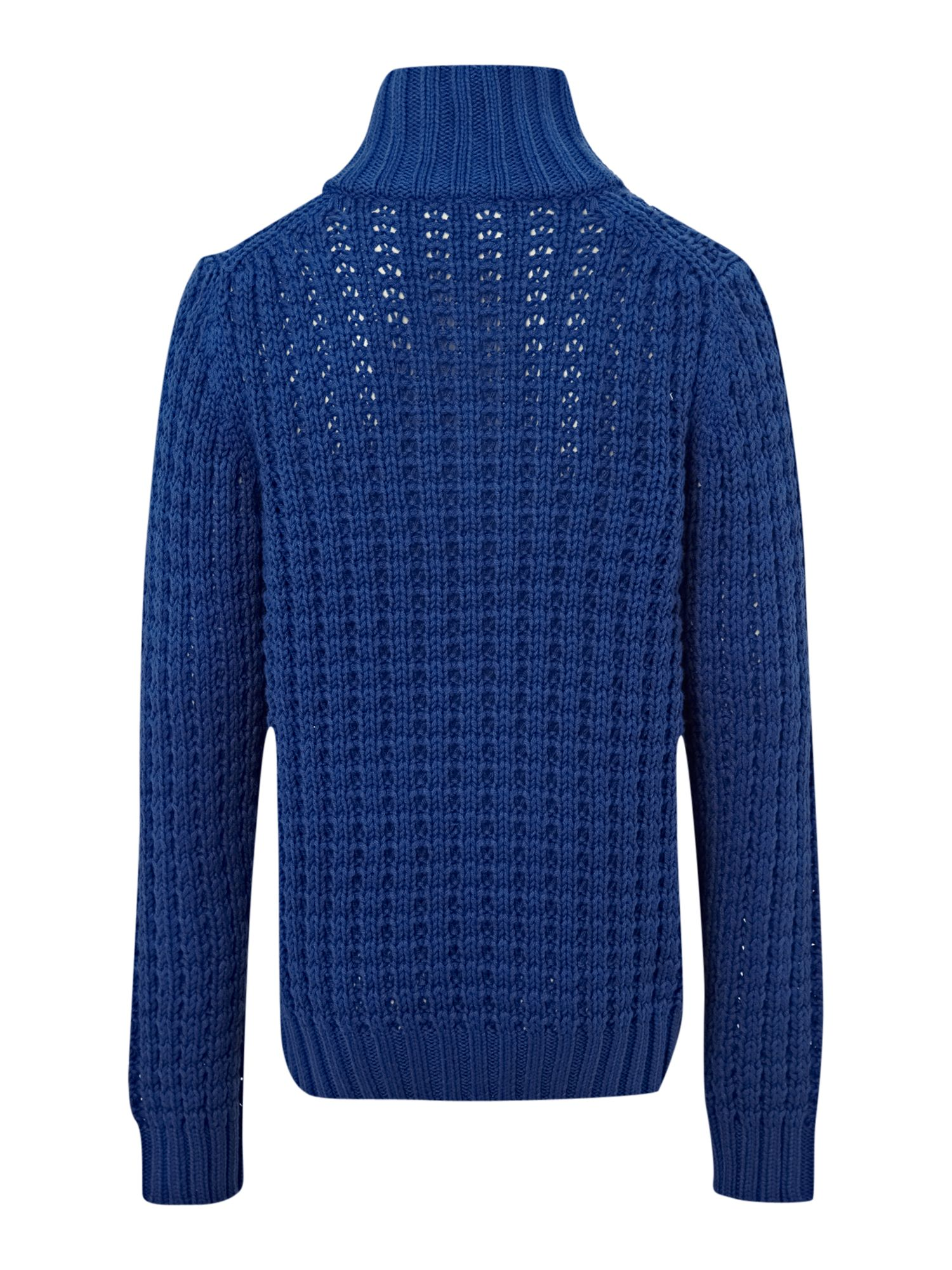 Boy`s chunky knit jumper