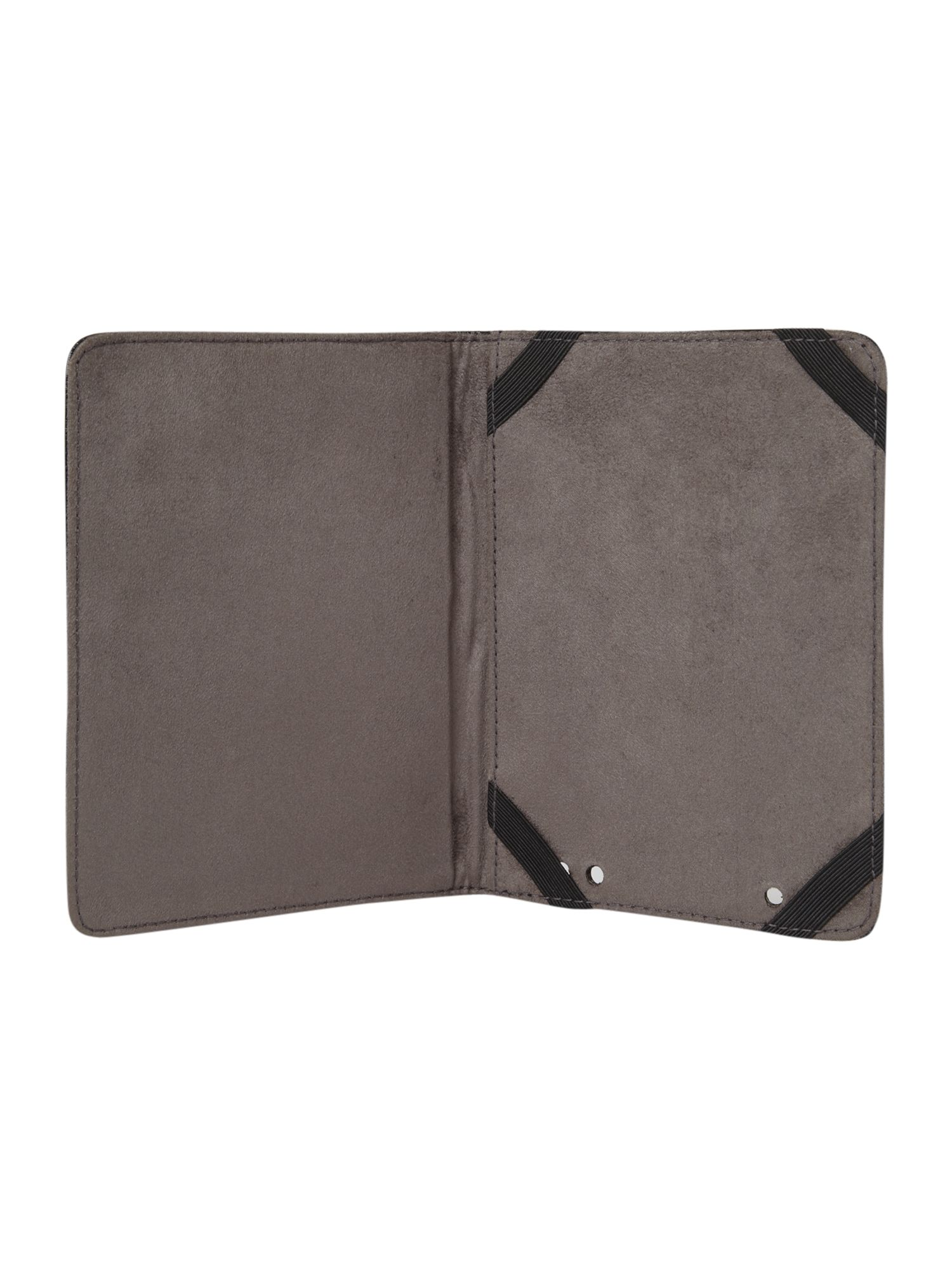 Black Leather Kindle Case