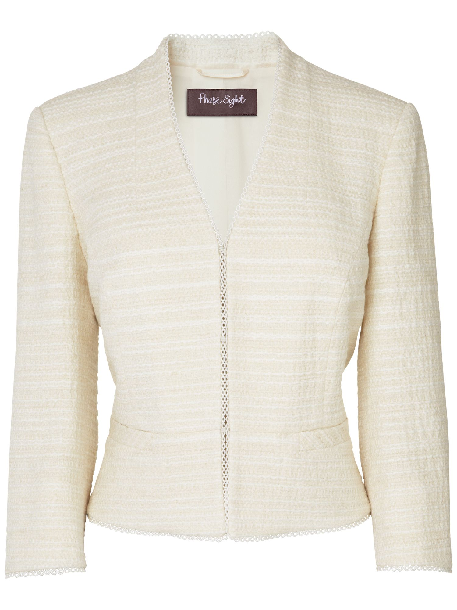 Angelica tweed jacket