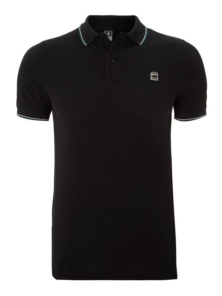 G-Star Short sleeved slim fit polo shirt