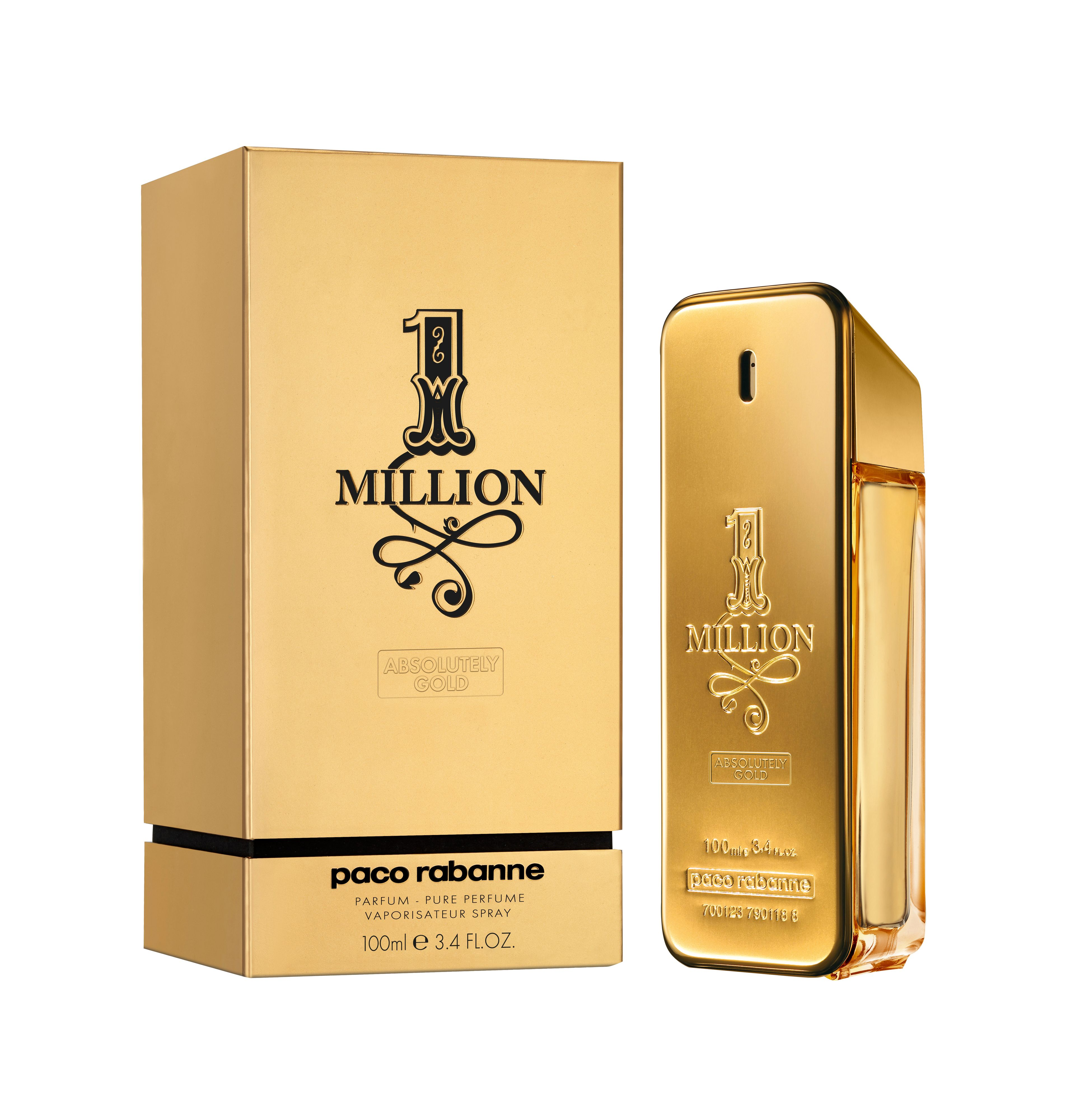 1 Million Absolutely Gold Eau de Parfum 100ml