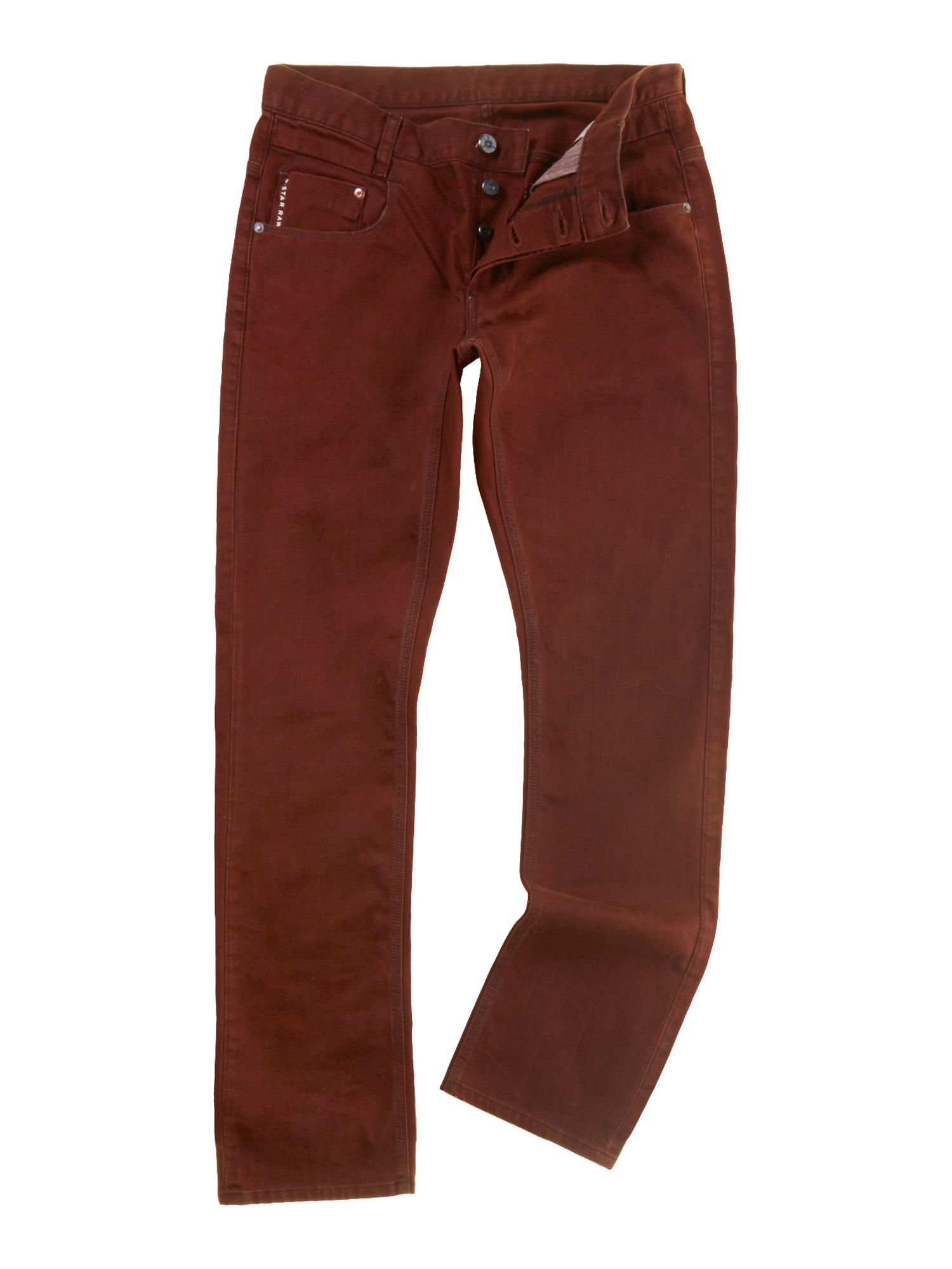 Radar slim fit twill trousers
