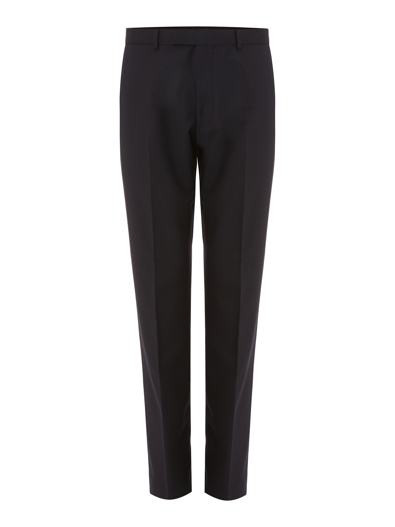 Fine Herringbone Formal Trouser