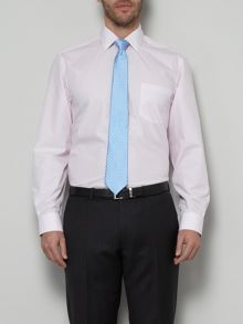 Double stripe formal shirt with pocket